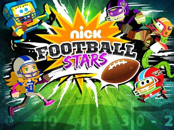 Nickelodeon Football Stars Sports Game