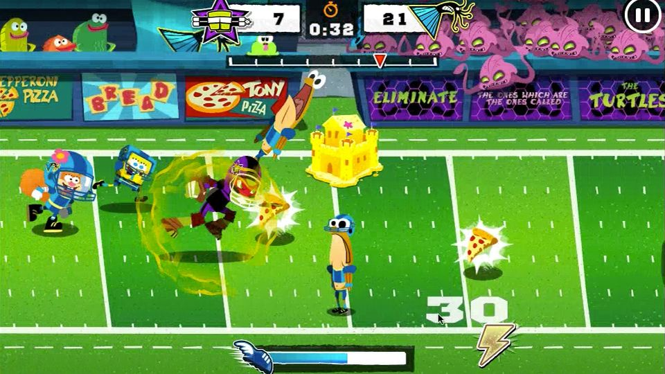 Игры Nickelodeon   Детские онлайн игры