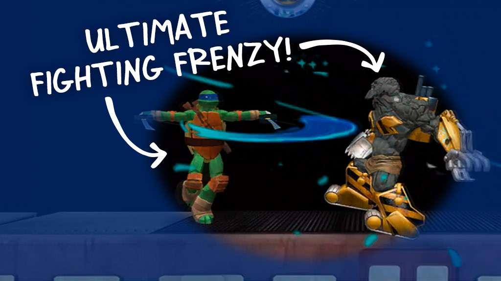 NickGamer: Ultimate Hero Clash 2: TMNT vs. Power Rangers