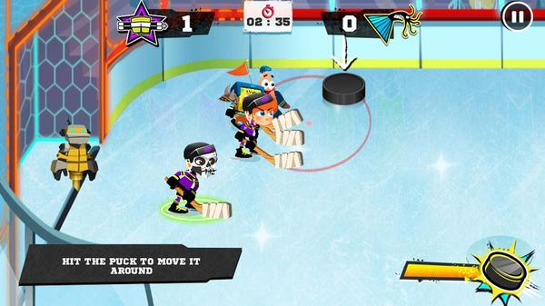 Hockey Stars Screenshot Picture