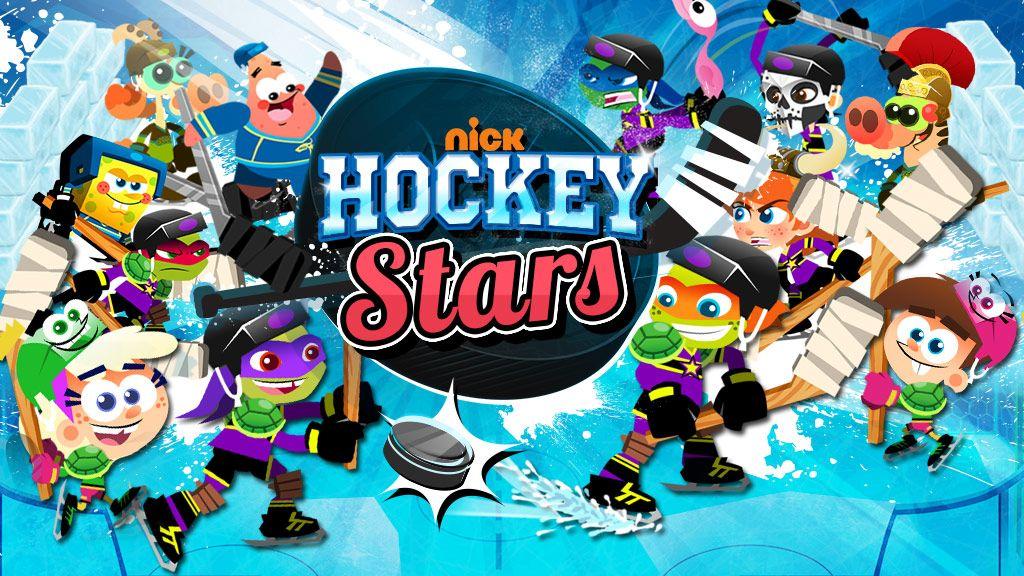 nickelodeon hockey stars sports game