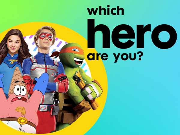 Nickelodeon: Which Hero Are You?