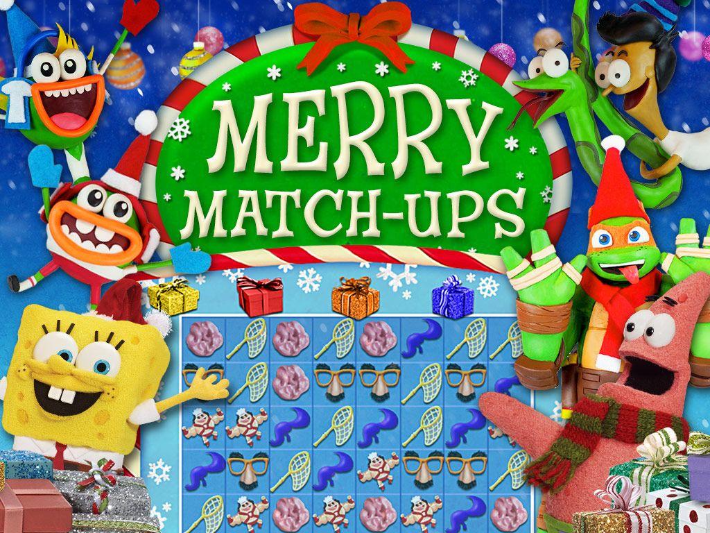 nickelodeon merry match