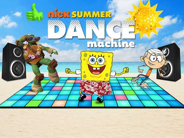 Promo type 1: Nick Dance Machine Summer Animation