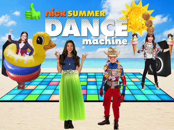 Promo type 1: Nick Dance Machine Summer Live Action