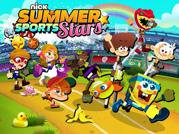 Nickelodeon: Summer Sports Stars