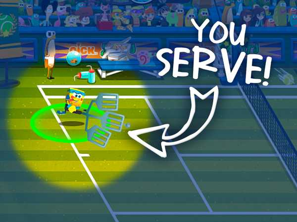 "Nick Gamer: ""Tennis Stars"""