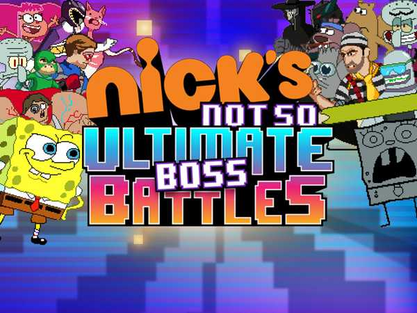 Nickelodeon's Not So Ultimate Boss Battles