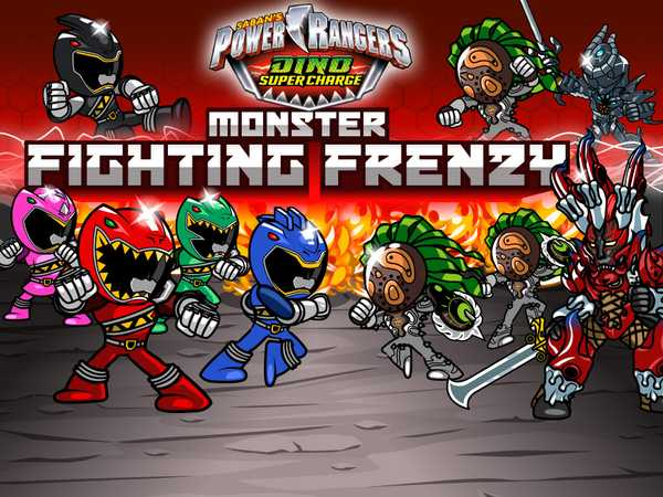 Power Rangers Dino Super Charge: Monster Fighting Frenzy