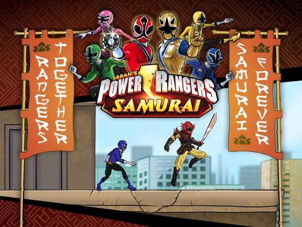 samurai rangers games
