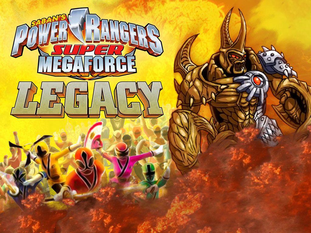 power rangers super megaforce  legacy action game