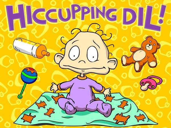 Rugrats: Hiccupping Dil
