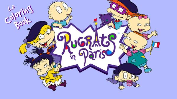 Rugrats: Coloring Book Featured Image