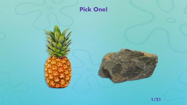 Are You More SpongeBob or Patrick? Screenshot Picture