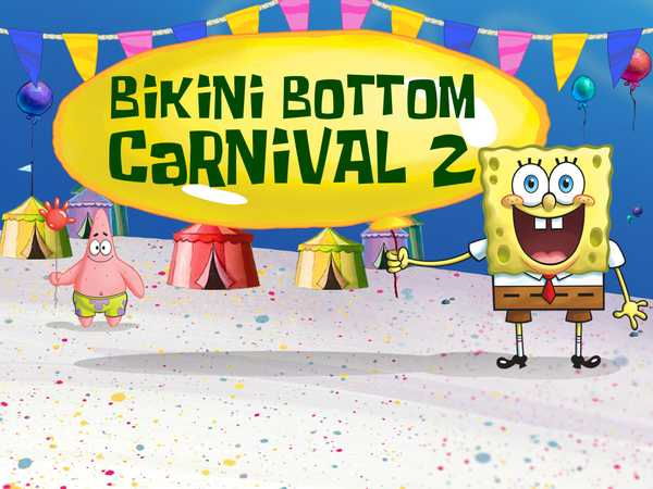 bikini bottom games