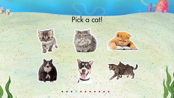 What's Your Bikini Bottom Pet? Screenshot Picture