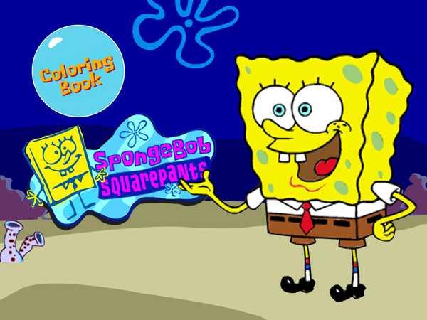 coloring pages online spongebob books - photo#2