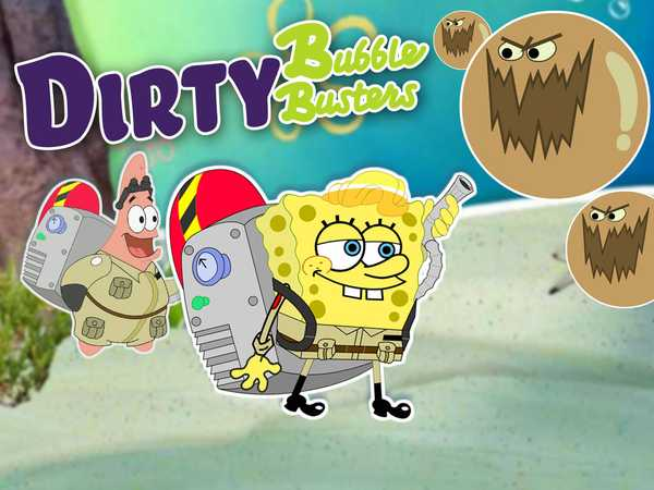 SpongeBob & Patrick: Dirty Bubble Busters