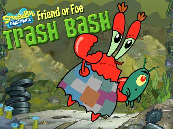SpongeBob SquarePants: Friend or Foe Trash Bash