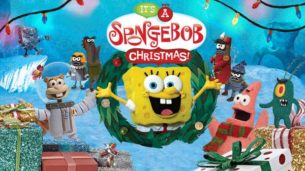 It's a SpongeBob Christmas Featured Image