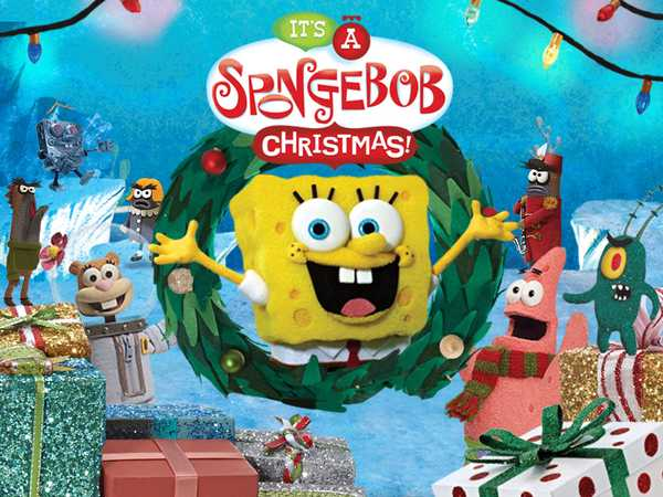 Promo type 1: It's a SpongeBob Christmas Game