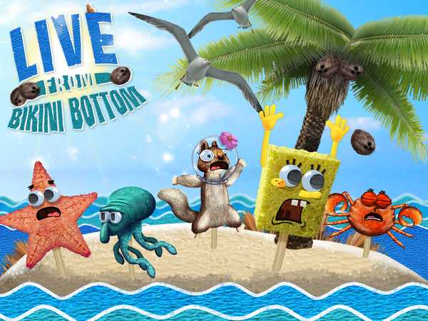 Sponge bob bikini bottom authoritative point