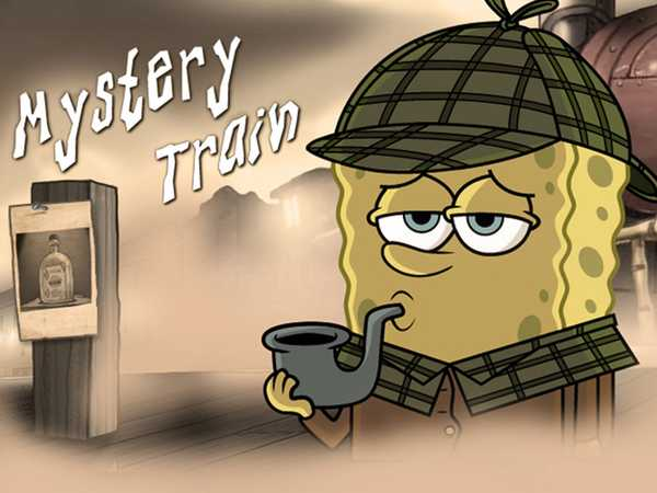 SpongeBob SquarePants: Mystery Train