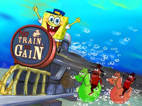 SpongeBob SquarePants: No Train No Gain