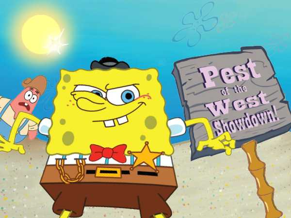 SpongeBob: Pest of the West Showdown