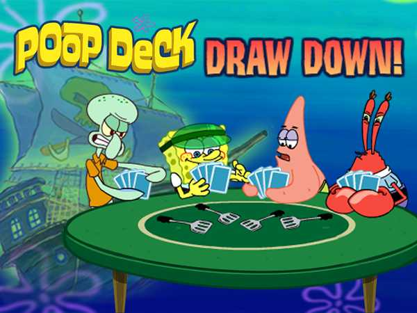 SpongeBob SquarePants: Poop Deck Draw Down