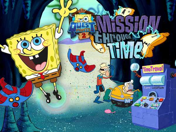 SpongeBob SquarePants: Questpants 2 - Mission Through Time
