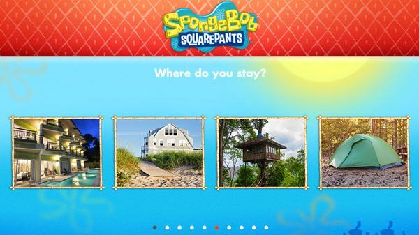 Where Would You Vacation in Bikini Bottom? Screenshot Picture