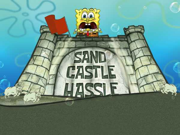 SpongeBob SquarePants: Sand Castle Hassle