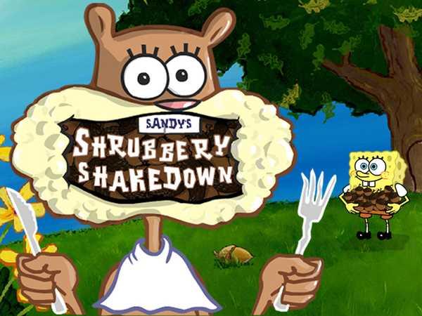 SpongeBob SquarePants: Sandy's Shrubbery Shakedown