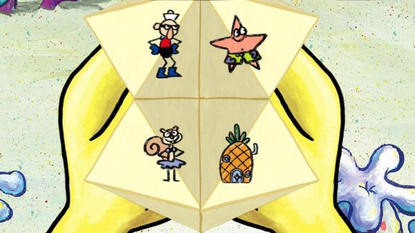 SpongeBob's Fortune Teller Screenshot Picture