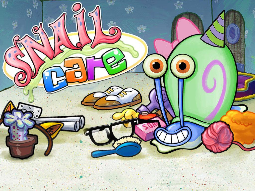 spongebob squarepants  snail care