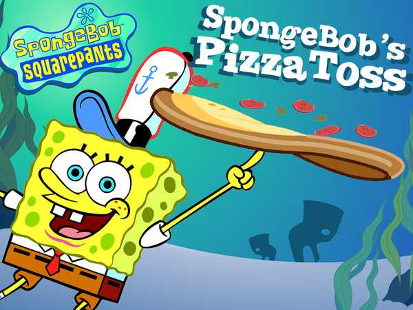 SpongeBob's Pizza Toss