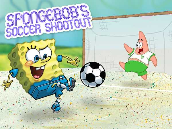 SpongeBob SquarePants: Soccer Shoot Out