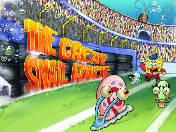 SpongeBob SquarePants: The Great Snail Race
