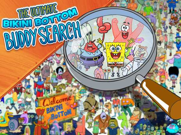 SpongeBob SquarePants:The Ultimate Bikini Bottom Buddy Search