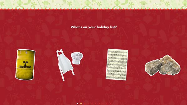 What's Your SpongeBob Holiday Gift? Screenshot Picture