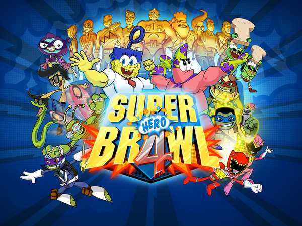 nickelodeon games super brawl 4