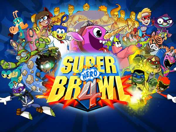 nickelodeon games super brawl 4