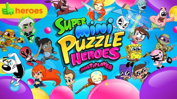Super Mini Puzzle Heroes Featured Image