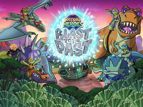 Promo type 1: Teenage Mutant Ninja Turtles: Blast to the Past GAME