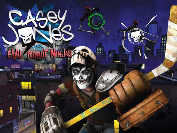Teenage Mutant Ninga Turtles: Casey Jones vs Evil Robot Ninjas