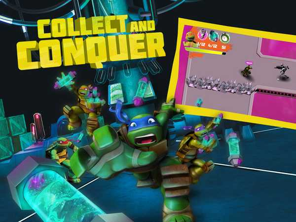 Teenage Mutant Ninja Turtles Collect and Conquer
