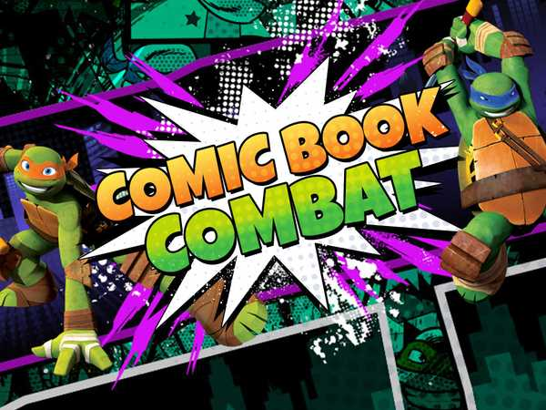 Teenage Mutant Ninja Turtles: Comic Book Combat