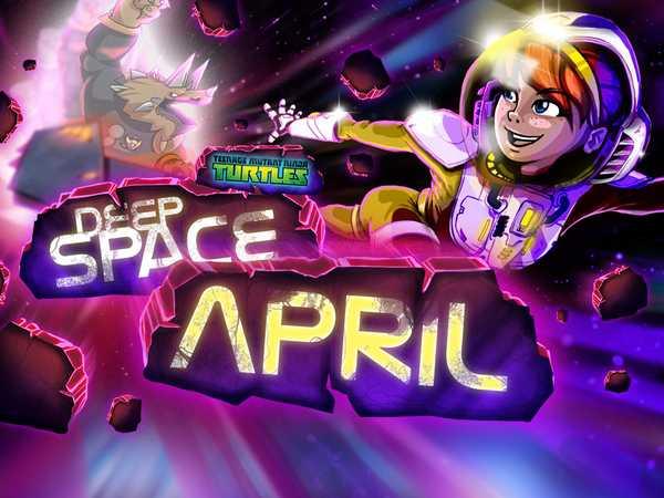 Teenage Mutant Ninja Turtles: Deep Space April