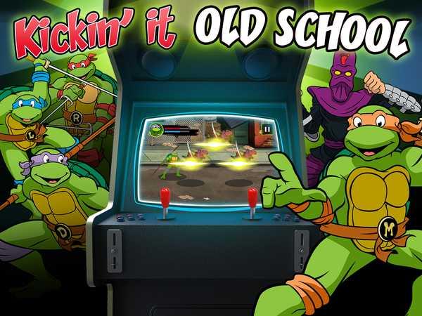 Teenage Mutant Ninja Turtles: Kickin' it Old School